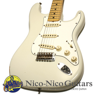 Fender Custom Shop 2015 1970 Stratocaster Relic (Olympic White/M)