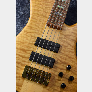 Spector USA NS5XL SC 5A Quilted Maple,Water Cured NY Water Tank Redwood/Pau Ferro -Natural Mat-【NEW】