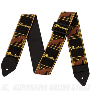 Fender Limited Edition Vintage Modified Monogram Strap BK/YW/BR《ハマ・オカモト監修》[数量限定]