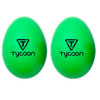 TYCOON PERCUSSION TE-G Egg Shakers グリーン エッグ シェイカー