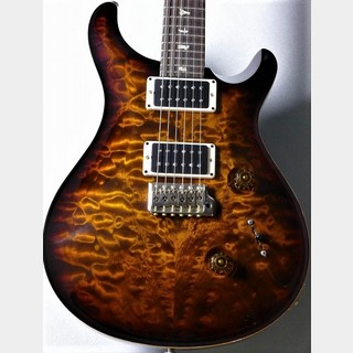 Paul Reed Smith(PRS) 【良杢目、軽量個体!!】Custom 24 Quilt 10top ~Black Gold Burst~ #246716【3.38kg】