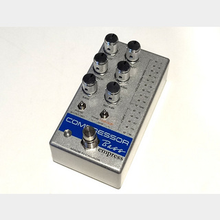 Empress Effects Bass Compressor Silver Sparkle
