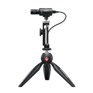 Shure MOTIV MV88 + VIDEO KIT Digital Stereo Condenser Microphone for iOS 【即日出荷可能!】【送料無料】