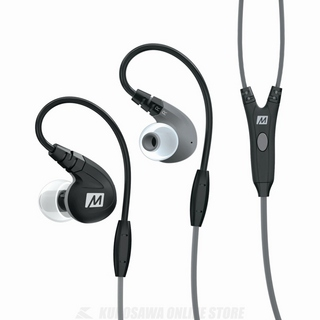 MEE Audio M7P Secure-Fit Sports In-Ear Headphones with Detachable Cables and Mic, Remote, and Universal Volume