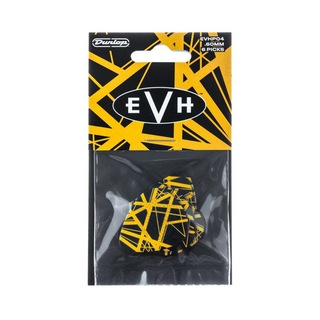 Jim Dunlop EVHP04 EVH MAX-GRIP PICKS VH II ギターピック 6枚入り