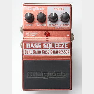DigiTech Dual Band Bass Compressor BASS SQUEEZE 【USED】