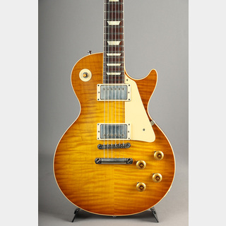 Gibson Custom Shop Historic Collection 1958 Les Paul Hand Select Top VOS Golden Poppy Burst 2019