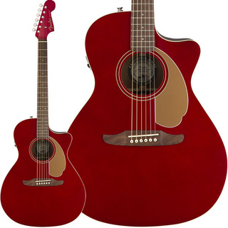 Fender Acoustics Newporter Player (Candy Apple Red)【本数限定特価】