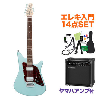 Sterling by MUSIC MAN ALBERT LEE SIGNATURE DBL エレキ初心者14点セット 【ヤマハアンプ付き】