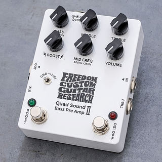 FREEDOM CUSTOM GUITAR RESEARCH Quad Sound Bass Preamp II [SP-BP-03]