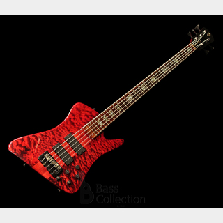 Spector USA REX-5P (Quilted Maple Body Wings, Trans-Red) '07 【USED】