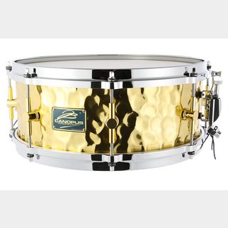 canopusHammered Brass Snare Drum HB-1455 【福岡パルコ店】