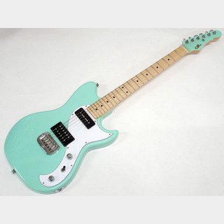 G&L USA FALLOUT / Surf Green / Painted Head 【OUTLET】