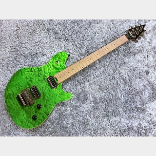 EVH Wolfgang WG Standard Quilt Maple Transparent Green【2021年最新モデル】