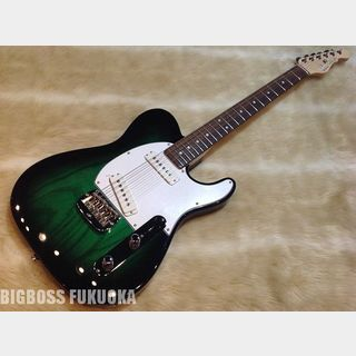 G&L USA ASAT SPECIAL ASH(Premium Color)【Green Burst】