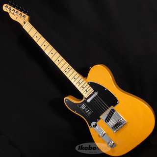 Fender Player Telecaster Left-Hand (Butterscotch Blonde/Maple) [Made In Mexico]