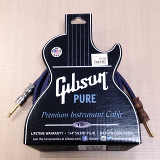GibsonInstrument Cable 18'  約5.4m/Purple(パープル) CAB18-PP