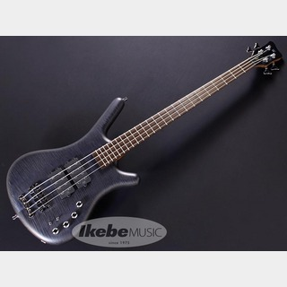 "Warwick Teambuilt GPS Corvette$$ 4st ""Flame Maple Top"" (Nirvana Black Transparent Satin) 【特価】"