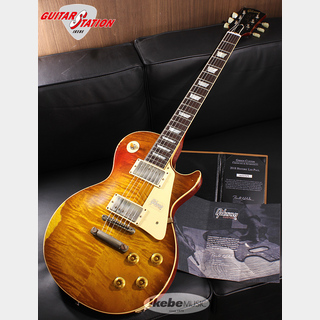 Gibson Custom Shop Historic Collection 1959 Les Paul Standard, Hand Selected Maple Top, Ultra Aged (Tracker Burst)