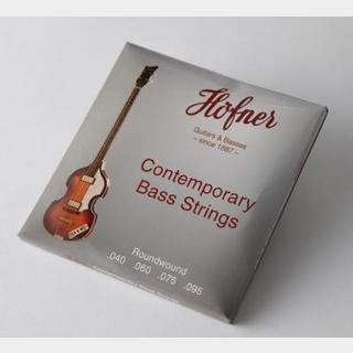 Hofner 1133R / Contemporary Violin Bass Strings Round Wound