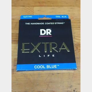 DR Strings CBE-9 EXTRA-Life COOL BLUE