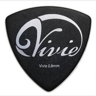 Vivie Pick 0.8 Silver Triangle 【同梱可能】