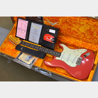 Fender Custom Shop Limited Edition 62/63 Stratocaster Journeyman Relic ~Aged Fiesta Red~ #CZ549874 【3.41kg】