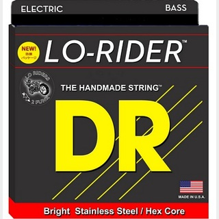 DR LO-RIDER DR-MH45 HEXAGONAL CORE STEINLESS STEEL WOUND 45-105 Long Scale MEDIUM 【渋谷店】