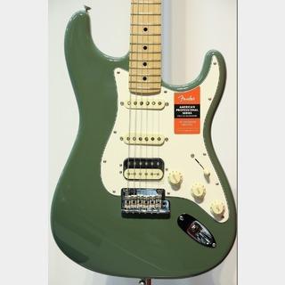Fender American Professional Stratocaster HSS Maple / Antique Olive★週末セール!28日まで★