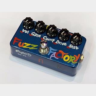 Z.VEX EFFECTS Fuzz Factory / Hand Paint / Blue Metallic / 1 of 1 < Used / 中古品 >