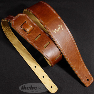 "moodyLeather-Leather 2.5""std [LightBrown-Cream]"