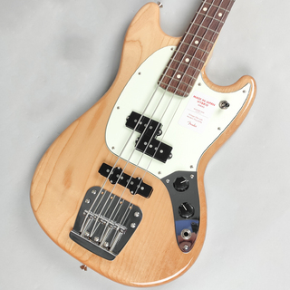 Fender Made in Japan Hybrid Mustang Bass Natural