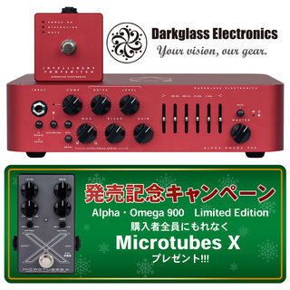 Darkglass ElectronicsALPHA·OMEGA 900 Limited Edition Red【Microtube Xプレゼント!】【新宿店】
