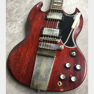 Gibson Custom ShopJapan Limited 1964 SG Standard Reissue w/Maestro and Grovers Medium Cherry VOS #002122【3.31kg】