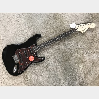 Squier by Fender Limited Edition Affinity Stratocaster Black w/Tortoid Shell Pickguard 【限定モデル】【2020年製】