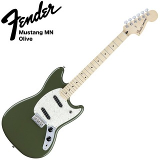 Fender Mustang MN Olive エレキギター