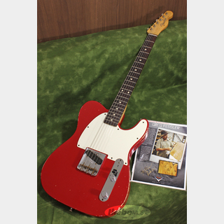Fender Custom Shop MBS 59 Esquire Journeyman Relic Dakota Red Master Built by Greg Fessler SN.R79634