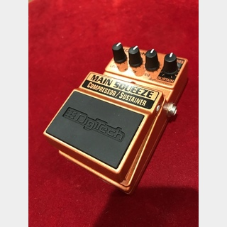 DigiTech MAIN SQUEEZE Compressor/Sustainer【OUTLET】【在庫一掃セール】【町田店】
