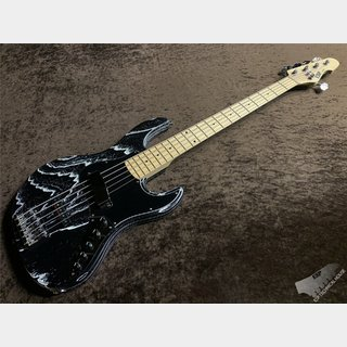 ESP AMAZE-AS-SL5/M【DRIFTWOOD Series, Black w/White Filler】
