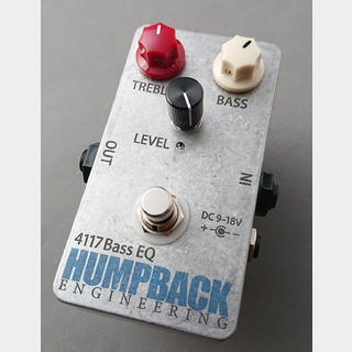 HUMPBACK ENGINEERING 4117 BASS EQ -Preamp- 【NEW】