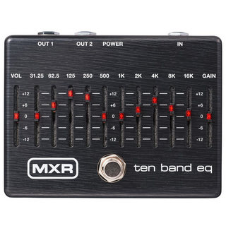 MXR M108SE TEN BAND EQ Limited Ebony
