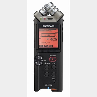 Tascam DR-22WL Wi-Fi接続対応 リニアPCMレコーダー