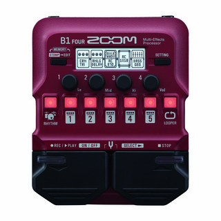 ZOOMB1 FOUR [Multi-Effects Processor] 【即納可能】