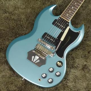 "Gibson SG Special 2019 Faded Pelham Blue "" Short  Vibrola & Ebony Block """