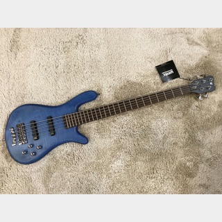Warwick German Team Built Streamer LX 5st Maple Top Ocean Blue Transparent Satin【2018年製】