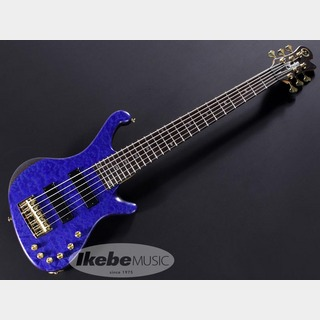 "FREEDOM CUSTOM GUITAR RESEARCH Dulake Flat 6 ""Figured maple top/瑠璃(RRI)""【Ikebe45th 怒涛の決算大激売】※追加商品※"