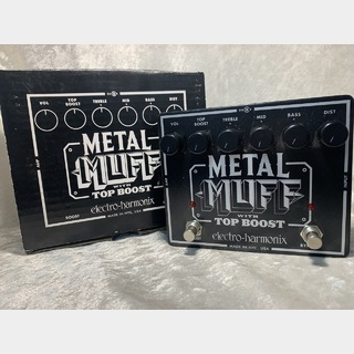 Electro-Harmonix METAL MUFF Distortion with Top Boost ☆9,999円以上送料無料9/22 20時まで!☆