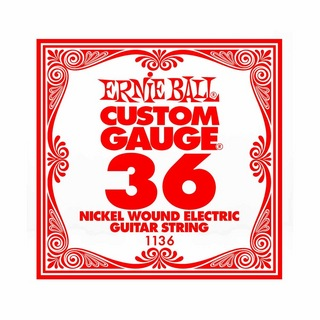 ERNIE BALL1136 NICKEL WOUND 036 エレキギター用バラ弦