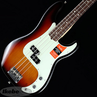 Fender USA American Professional Precision Bass (3-Color Sunburst/Rosewood) [Made In USA]【生産完了特価】