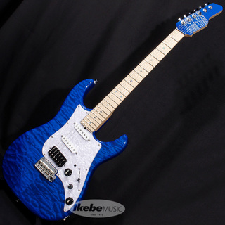 James Tyler Japan Studio Elite HD/Hand Selected QMT/Ash/Maple/Trans Blue/MH 【SN.J20020】